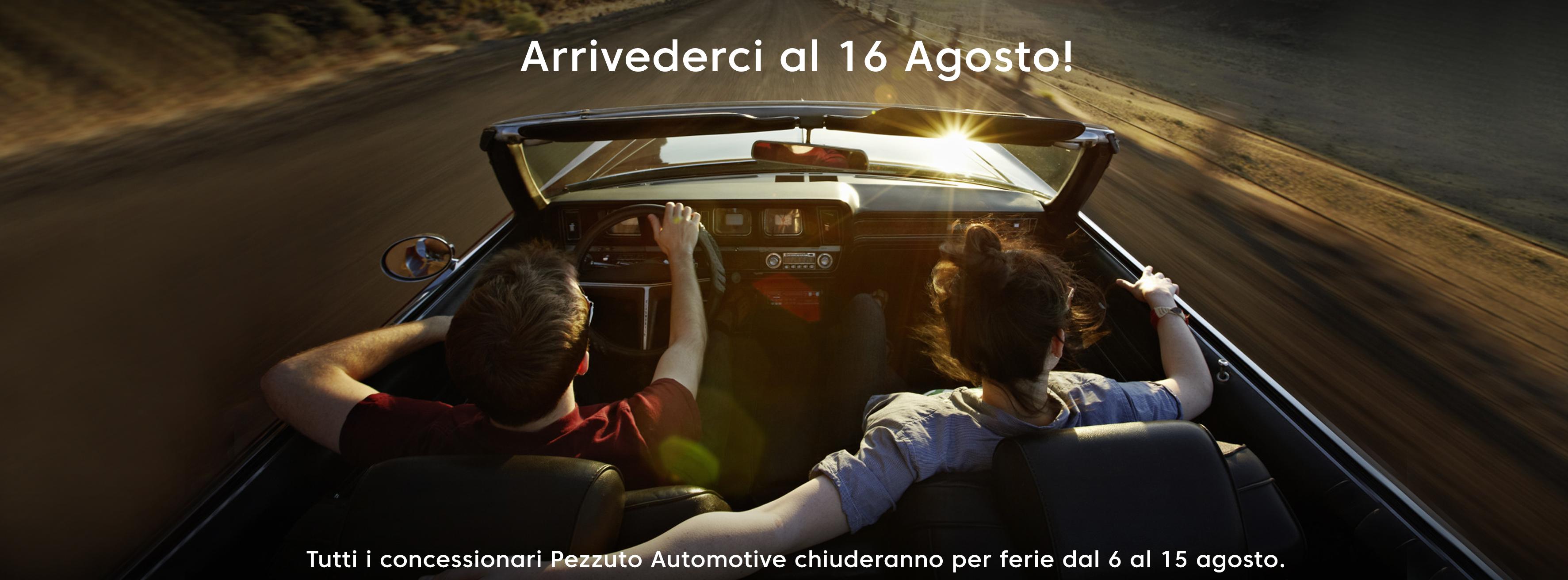 Pezzuto Automotive Agosto Ferie